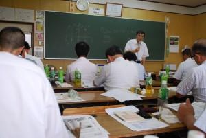 8月19日に開催された開倫塾経営品質研究会