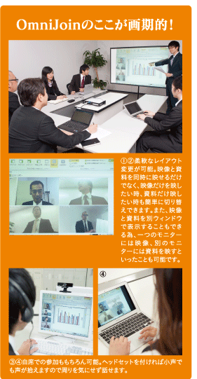 OmniJoinのWeb会議