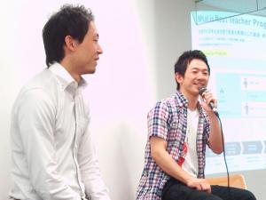 Teach For JAPANの松田 悠介代表理事(左)と株式会社LITALICOの長谷川 敦弥代表