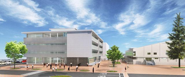 2015年度に竣工予定の新校舎イメージ