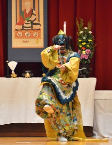 納曽利の演舞