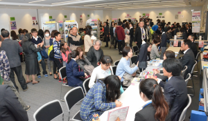 OKK大井町から教育を考える会の「私立中高相談会」の様子