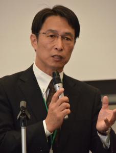 相談会実行委員長の阿部光雄氏