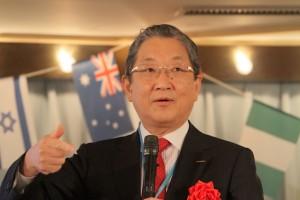 日産自動車の志賀俊之 元副会長が基調講演した