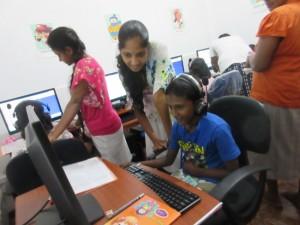 「すらら」が導入されたスリランカの学習塾