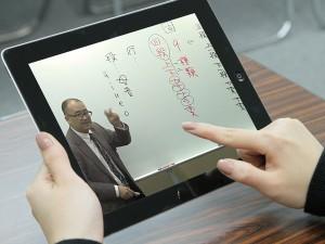 塾に通えない僻地の生徒も繋げるICTを使った授業