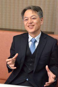 湘南ゼミナールの社長に就任した福村賢一社長