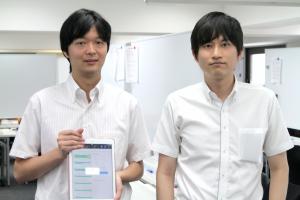 メイツの遠藤尚範代表(写真右)と伊藤史弥副代表。