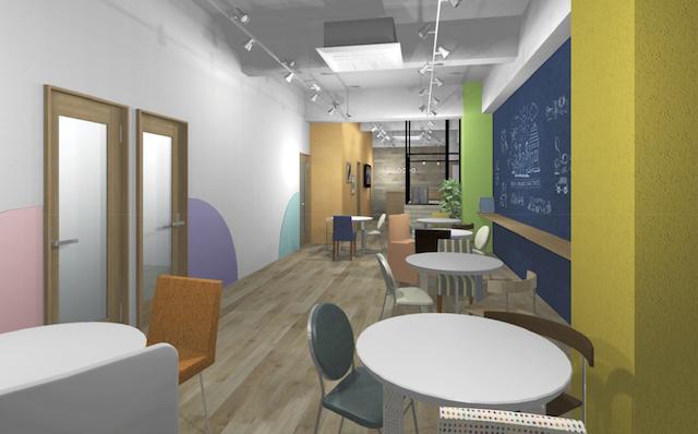 2017年3月に開校予定の「ナユタス」本山校の教室イメージ